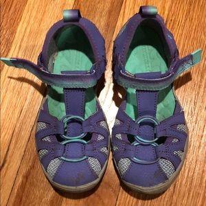 Merrell hydro girls sandals size 11